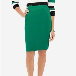 Limited Kelly green career pencil skirt NWT sz 6